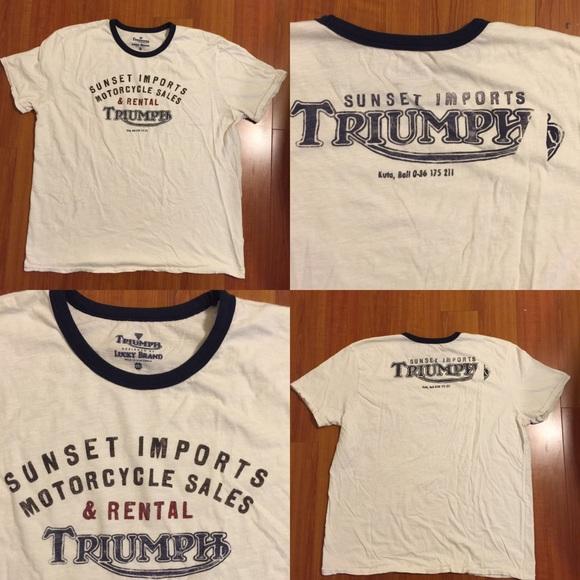 a73a28e33 Lucky Brand Other - 🆕 Lucky 🍀 Brand Triumph T-Shirt Size XXL Unisex