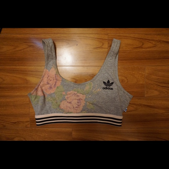 adidas rose bra top