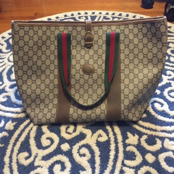 fa3e119c3cb26a Gucci Bags   Vintage Plus Tote   Poshmark