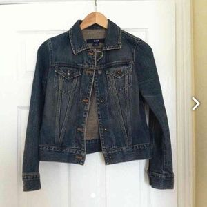 Gap denim jacket size xs