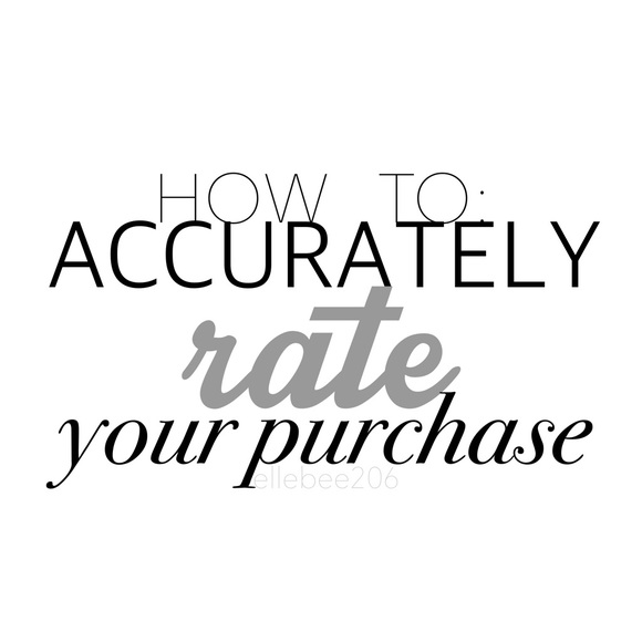 PoshTip Other - How to ACCURATELY Rate Your Seller