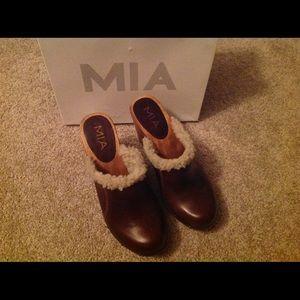 MIA Shoes - NEW MIA leather clogs!