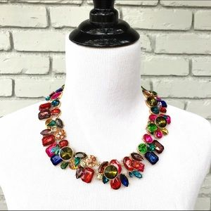 Bright Multicolor Statement Necklace