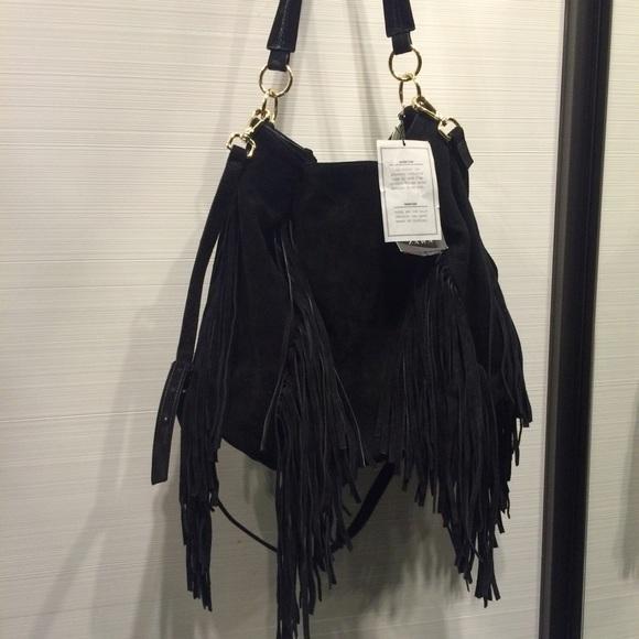 Popular Zara Fringe Suede Bag | Poshmark ST87