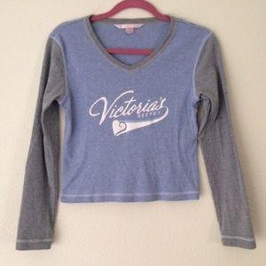Victoria's Secret Other - Vintage Victoria's Secret Crop Pajama Top