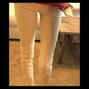Anthropologie Denim - Cream Tuxedo Style Denim