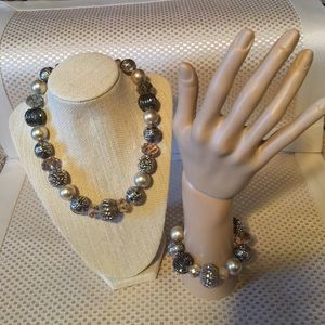 Jewelry - Matching Necklace and Bracelet