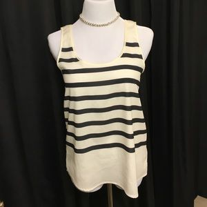 Silky Striped Tank