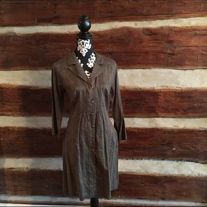 CAbi shirt dress/jacket
