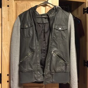 Urban Outfitters Members Only leather jacket