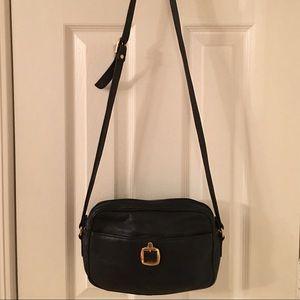 84 Off Sas Handbags 🛍 Vintage Sas Black Leather Cross