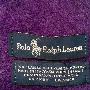 74 off ralph lauren accessories polo ralph lauren lambs. Black Bedroom Furniture Sets. Home Design Ideas