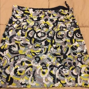 French Connection Sequence Skirt 