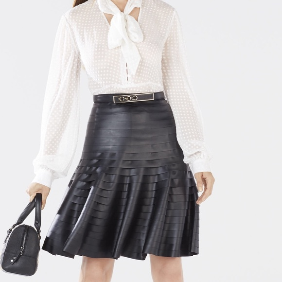 78 bcbg dresses skirts bcbg shanina faux leather
