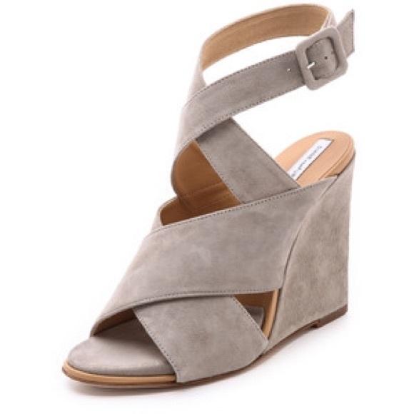 Poshmark Sandals Furstenberg ShoesWynne Diane Von Suede Wedge CrthsdQx
