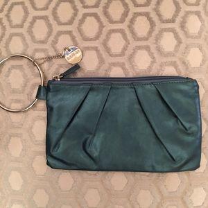 Lulu Handbags - 🛍 LuLu Blue Green Wristlet