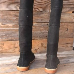 f6209b47148 UGG Samantha Black Tall Over the Knee Boots NEW!