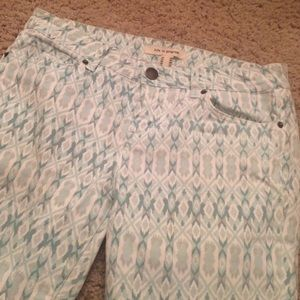 Urban Outfitters Pants - Printed pattern skinny legging pants spring teal