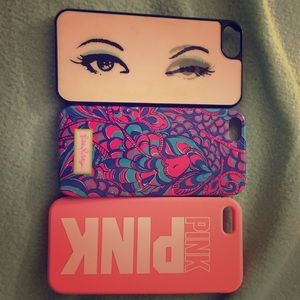Looking to sell these three iPhone 5S cases!