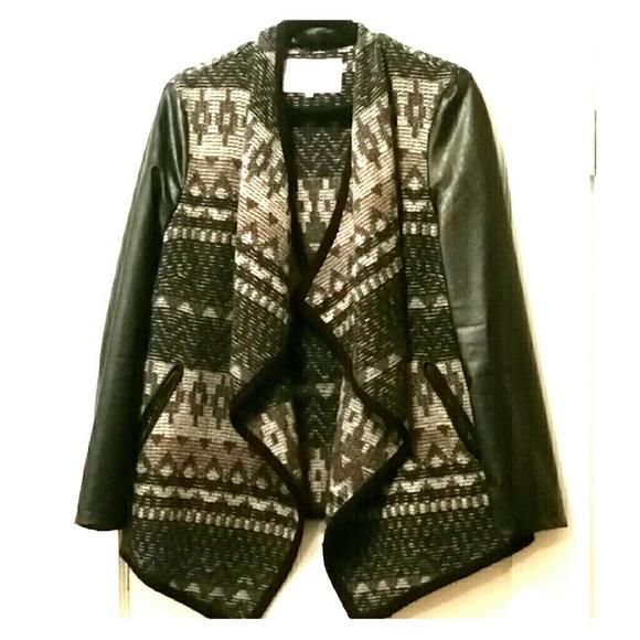 91% off Pink Martini Jackets & Blazers - Tweed waterfall jacket ...