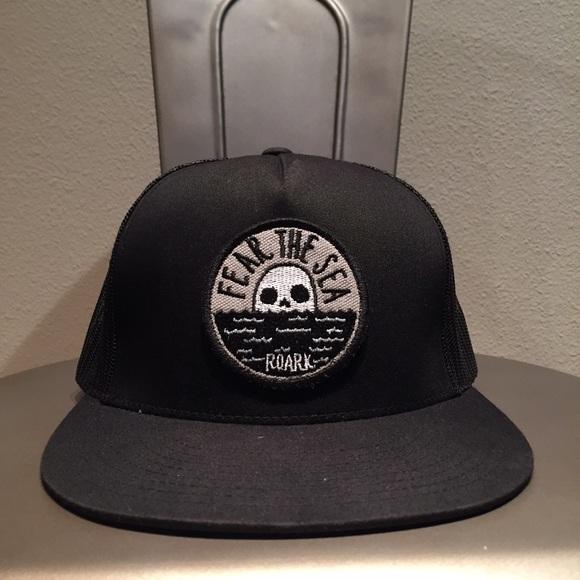 33a3667974e Roark Revival Fear the Sea Trucker Hat. M 56a9bad8b4188e02df022c5c
