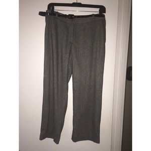 Cache Crop Wool Blend Pant + REMOVABLE BELT