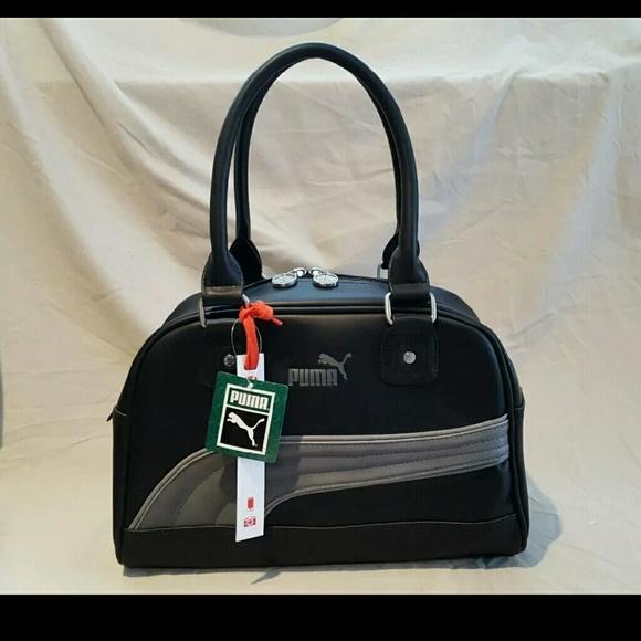 903ce9933b Puma Foundation Black Handbag