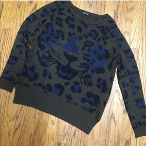 Topshop Sweaters - TopShop trendy leopard print sweater