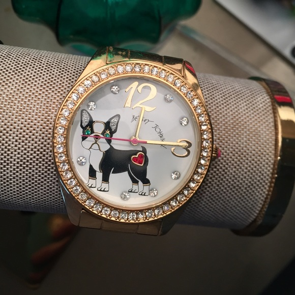Betsey Johnson Dog Watch