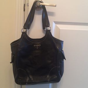 prada backpack purse - Black Prada vintage bag on Poshmark