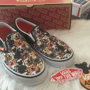 c385b58e88 Vans Shoes - Vans ASPCA Dogs Slip On Sneakers