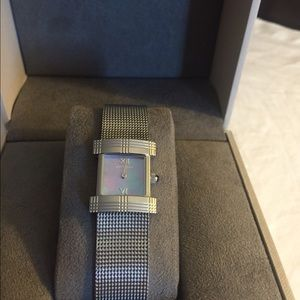 Burberry women's stainless watch
