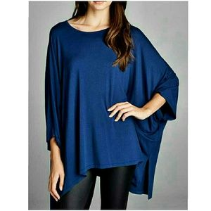 4 Bidden Boutique Tops - ‼️SALE‼️HI-LO DOLMAN SLEEVE TOP