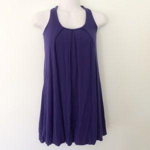 Purple Bubble Cocktail Dress