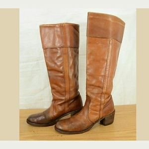 Vintage Frye Campus Riding Boots