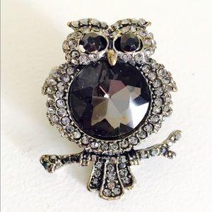 FREE w/bundle Owl Statement Ring