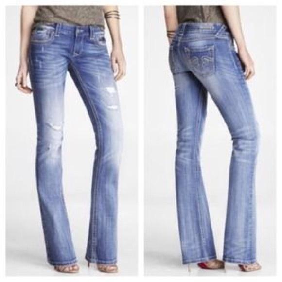 75% off Express ReRock Denim - Express Rerock Jeans Bootcut 0S ...