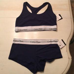 e4505c0e384b Calvin Klein Intimates & Sleepwear - BNWT Calvin Klein underwear and sports  bra set