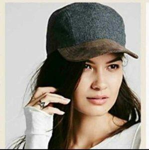 Free People Suede Brim Hat