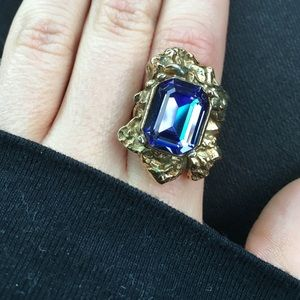 Yves Saint Laurent Jewelry - ysl arty ring - purple