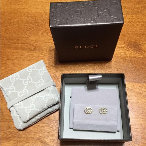 964c1ab8f4f Gucci Jewelry - Gucci 18k stud earrings