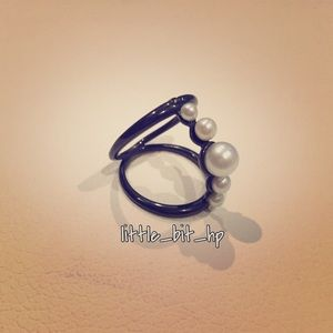 Pearl Sphere Ring