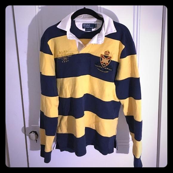 be8f994e4a2 💸FINAL PRICE💸Women's Ralph Lauren Rugby Polo. M_56aab138c6c795784500000b