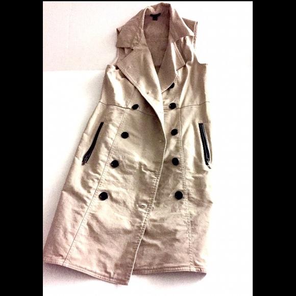 f4aa0b6962a3 Ann Taylor Dresses | Sleeveless Trench Dress | Poshmark
