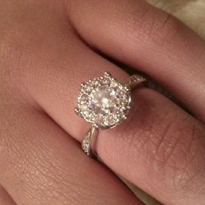 Jewelry - Sterling silver engagement ring