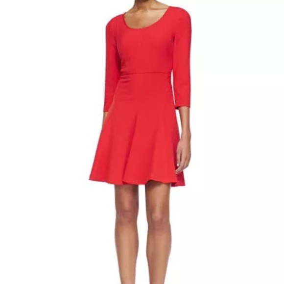 DVF 3/4 Sleeve, Paloma, Fit&Flare
