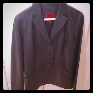 Cole Haan beautiful leather blazer, like new