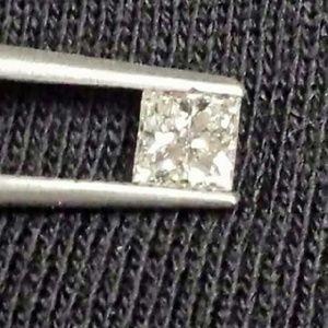 96. princess cut diamond