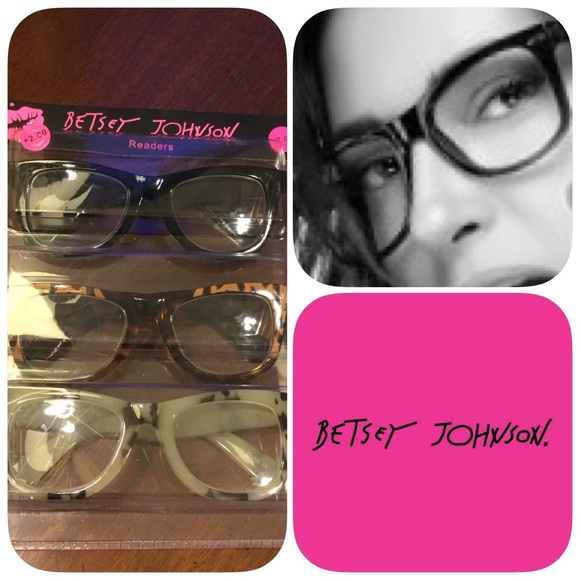 017fbdf0b84c Betsey Johnson Accessories - NEW BETSEY JOHNSON READERS - 2.00
