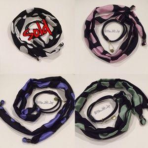 Colette Malouf Silk DOT Pony Braider or Bracelet